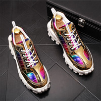 2020 New Men Fashion Casual comfortable Shoes Autumn Bling P...
