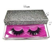 13styles Алмазный упаковки Box 3D норковые Ресницы Пустые коробки для упаковки Блеск Rhinestone Lashes Case Eye Lashes Пластиковые коробки GGA3554-5