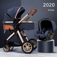 2020 New Baby Stroller 3 in 1 High Landview Baby Pushchair R...
