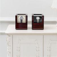 آلة لف واحد التلقائي التجميل مربع خشبي عرض مجلس الوزراء تخزين ووتش الجدول شاكر صناديق المجوهرات