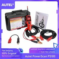 Autel PowerScan PS100 Sistema elétrico 12V / 24V Diagnóstico Circuit Tester Ferramenta Electrical Testers Condutores de teste YkBf #