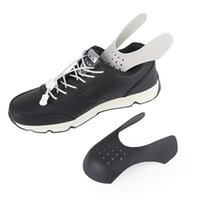 درع الأحذية أحذية رياضية مكافحة تجاعيد الأحذية المعدضة الأحذية دعم تو كاب strecher حامي 1/2 / 3pairs