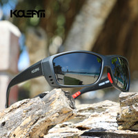 2020 KDEAM LUXURY Fischerei Sonnenbrillen Männer Sport TR90 Feld polarisiert Reflektions-Beschichtung Objektiv 5-Farben-Frauen Brillen UV400 KD6069