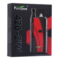 Orijinal Kangvape 420 2in1 Kutu MOD 10 Renkler 650mAh Prepheat Gerilim VV Akü Pod ve Kartuş, TAK olmadan aynı anda kullanılabilir