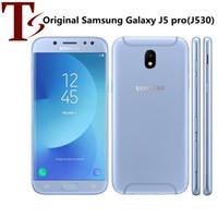 Оригинальный Samsung Galaxy J5 Pro J530F OCTA CORE 2G RAM 16GB ROM 5,2 дюйма AMOLED 4G LTE разблокирован мобильный телефон