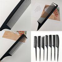 Металл волосы расческа Major Анти Статика Rat Tail Combs Волоски щетка сталь игла Iron точка Make Up Tool 1yt E2