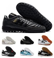 Classics Hommes Coupe MUNDIAL BUT INDOOR équipe Astro Modern Craft TF TURF Chaussures de football Chaussures de football Scarpe Calcio Crampons Taille 39-45