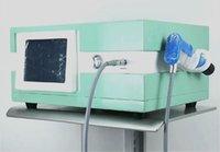 El ultrasonido de fisioterapia de la máquina cosechadora de presión de aire de choque alivio del dolor de la onda para el Aoustic radial Shockwave máquina de la terapia