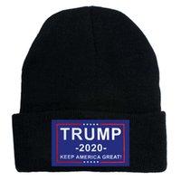Trump Beanie Donald Trump 2020 Make America Great Again Strickmütze Winter warme Ski-Kappen-Partei-Hüte LJJO8216