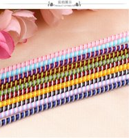1.4M Multipurpose Colors Wire Cord Rope Protection USB Cable Winder Data Line Protector Cover Suit Spring Sleeve twine