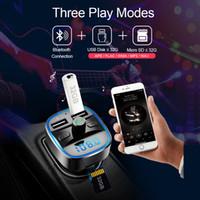 سيارة مشغل الموسيقى MP3 بلوتوث 5.0 استقبال وزير الخارجية الارسال شاحن USB مزدوجة سيارة U القرص TF بطاقة لاعب الموسيقى ضياع