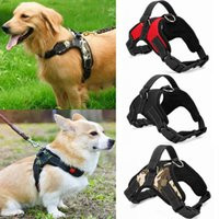 Dog Soft-Adjustable Harness Vest Dog Brustgurt Walk Out Handschlaufe Hundehalsband