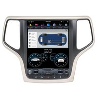 Freeshipping Android 9 Carplay DSP Per Jeep Grand Cherokee 2014-2018 verticale Tesla IPS display dell'autoradio Multimedia Player GPS Navigation