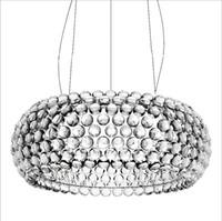 Modern caboche akrylboll ljuskrona hem vardagsrum matsal sovrum tak hängande lampa fixtur pa0071