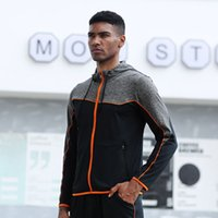 E-baihui 2020 Men's Autumn and Winter Loose Sports Jackets, Running Casual Fitness Clothes, long-sleeved Hooded Training Suits 91605