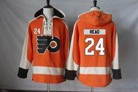 Philadelphia Flyers Jersey 24 Matt Read 27 Boyd Gordon 28 Claude Giroux 32 Mark Streit 35 Steve Mason 39 Mark Alt Menshoodies-Sweatshirts