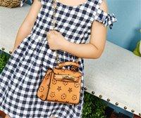 1 stück / Kinder Handtaschen Designer Geldbörse Mädchen Kinder Crossbody Kette Tasche Fanny Pack Schultertasche Messenger Bags Prinzessin Party Totes LY8033