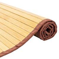Alfombras 24 * 72 pulgadas Práctica práctica Casa Bambú Baño Antideslizante Sala de estar Dormitorio Impermeable Aparato antideslizante Apartadero Simple Log Mat