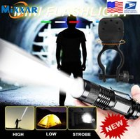 ZK20 Dropshipping Mini LED 3 Modes Torch Zoomable Flash Light Waterproof Lamp For Fishing Camping Hiking Riding