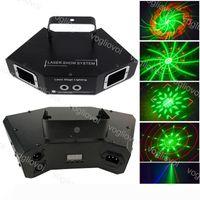 illuminazione laser 4 Lens DMX512 RGB scansione a colori completo Fase quattro occhi fascio 24 Modello per dell'interno della fase della discoteca del DJ DJ DHL