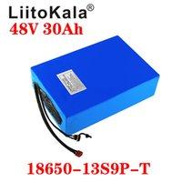 LiitoKala 48V 20AH 30Ah 15AH 12Ah 25ah высокой мощности электрический велосипед батареи E-велосипед батареи 48 Вольт литиевая батарея с BMS