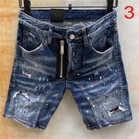 Hombres pantalones cortos jeans rectos Jeans de mezclilla 9 estilo casual jean club nocturno azul algodón verano pantalones estilo italia pantalones de verano