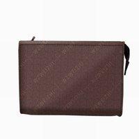 Femmes de haute qualité Pochette de toilette de poussière 28 cm Nouveau portefeuille de portefeuille cosmétique cuir maquillage sacs de sacs Protection contre les femmes Waterp MHPA