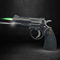 Kleine Gewehr-Feuerzeug Jet-Flamme-Fackel-Feuerzeug für Küche Riesen Heavy Duty nachfüllbare Feuerzeug für Raucher windundurchlässige mit LED