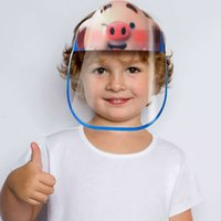 2020 Children Cartoon Face Shield Anti- fog Isolation Mask Fu...