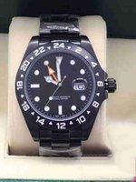 2019 Top mestre fez cuidadosamente relógio 216570 aço inoxidável automático com mostrador de aço 40MM safira e pulseira de aço de qualidade
