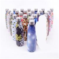 Botellas de agua de acero inoxidable unicornio Unicornio con la tapa en forma de copa Cola no Slip Oficina de la venta caliente 18 V 5zx
