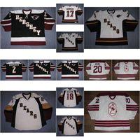 Neue 2 Nick Naumenko Herren Womens Kids Ahl Hershey Bären 18 Kyle Wilson 20 Andre Dore 100% Stickerei Benutzerdefinierte Hockey-Trikots Goodit Cut