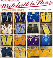 2020 New Authentic Mitchell & Ness Los Angeles