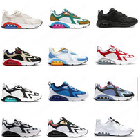 caldo più nuovi Running Shoes 200 Teal Bordeaux per gli uomini Mystic verde oro bianco 200S Mens Sneakers Trainers desinger des chaussures Homme
