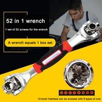 Высокое качество динамометрический ключей Набор универсальный ключ Ratchet Мультитул вращатель 52 В 1 Ручной инструмент Spline Болты Torx Мебель Ремонт автомобилей