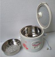 3L cuiseur à riz électrique portable Midea YJ308J 220 V en acier non inoxydable bâton pot intérieur + vapeur outils de cuisson du panier + bouchon Conversion (cadeau)