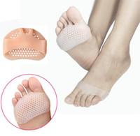 Cura dei piedi avampiede silicone metatarso Pad sollievo dal dolore Ortesi Foot Massage antiscivolo alta protezione dell'ammortizzatore del tallone elastico