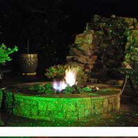 Outdoor IP44 impermeabile rosso verde Elf lucciola giardino Christas laser albero proiettore vacanze illuminazione di paesaggio 110v luce