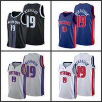 DetroitPistões.Svi mykhailiuk homens cidade de basquete jersey