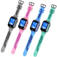NUEVO SMART GPS Watch Kids New IP67 A prueba de agua SOS Teléfono Smart Watch Niños GPS Reloj Fit Sim Card IOS Android Wristwatch