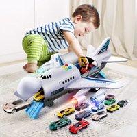 Música História Simulação trilha Inércia filhos de Tamanho Grande Passenger Plane Crianças Airliner Toy Car
