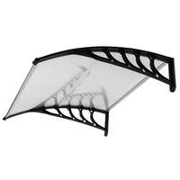 Fahion Sun derramar mobiliário porta janelas chuva beirais capa conveniente decoração ao ar livre doméstico 100 * 100 telhado rack de dossel
