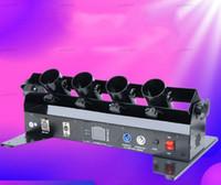 DJ Свадебный праздник 4 снимки Confetti Streamer Cannon Machine Party DMX Четыре головы Электрическая бумага Confetti Machine Machine