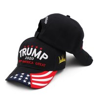 Donald Trump 2020 Cap USA Baseball Caps Keep America Great Snapback President Hat 3D Embroidery Ball Caps Unisex Trump Party Hats CCA12388