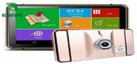 7 pollici Android 8GB 512M GPS per auto DVR GPS Radio di navigazione del camion veicolo Navigatori camion telecamera posteriore dello schermo Mappa Aggiornamento Ciez #
