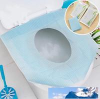 Hijyenik Tuvalet Kağıdı Koltuk Tek Tuvalete Atılabilir Koruyucu Biyobozunur Sıhhi Closetool Koltuk Kağıt Cüzdan Çanta Seyahat Çalışması Tren Kapaklar