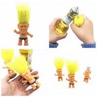 8cm Trump Troll куклы Многофункциональные куклы бутылок Мини кукла Troll игрушки Рисунок Трусы Doll партия Подарки YYA191