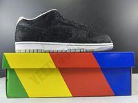 2020 низкой Доры конского SB Dunk Пушистая ткани Скейтборд обувь Мужчины Женщина моды Комфортного Открытый Человек Женщина тренер кроссовки CJ5378