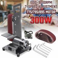 350W Mini Elektrik Bant Makinesi Sander 1000-9000RPM Mini Kemer Sander DIY Polisaj Taşlama Makinesi Aşındırıcı Kayışlar Öğütücü Kesim RpIl #