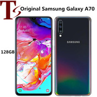 Reformado original para Samsung Galaxy A70 A705F 6,7 pulgadas Octa Core 6 GB de RAM 128 GB ROM 32MP androide abierto Móvil